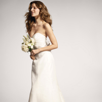 Wedding Dresses, Sweetheart Wedding Dresses, Fashion, Train, Sweetheart, Strapless, Strapless Wedding Dresses, Bow, Organza, Silk, Ruched, ruched bodice, organza wedding dresses, Nordstrom Wedding Suite, nouvelle amsale, Silk Wedding Dresses