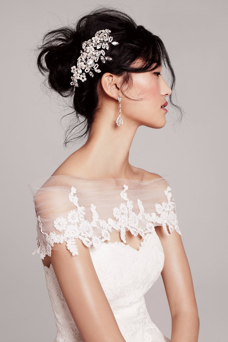 Wedding Dresses, Sweetheart Wedding Dresses, Ball Gown Wedding Dresses, Lace Wedding Dresses, Romantic Wedding Dresses, Fashion, Romantic, Lace, Sweetheart, Strapless, Strapless Wedding Dresses, Tiered, Organza, Silk, Ball gown, chapel train, lace bodice, Hayley Paige, organza wedding dresses, Nordstrom Wedding Suite, flouncy skirt, flouncy, Silk Wedding Dresses