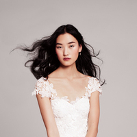 Wedding Dresses, Lace Wedding Dresses, Romantic Wedding Dresses, Fashion, Classic, Gown, Romantic, Lace, Cap sleeves, Lela rose, Sweetheart neckline, lace bodice, Classic Wedding Dresses, Nordstrom Wedding Suite, the farm