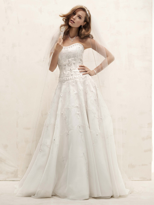 Mermaid Wedding Dresses, Lace Wedding Dresses, Romantic Wedding Dresses, Fashion, Classic, Flowers, Romantic, Lace, Empire, Floor, Wedding dress, Beaded, Oleg cassini, Fit-n-Flare, Classic Wedding Dresses, Flower Wedding Dresses, Floor Wedding Dresses