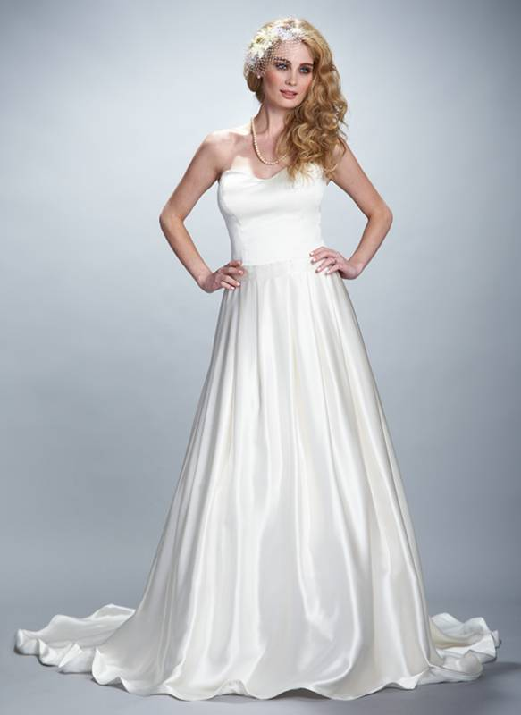 Elegant dream is a timeless silk charmeuse gown that for Silk charmeuse wedding dress