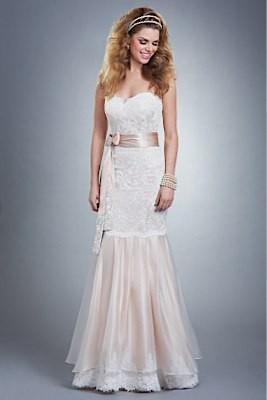 Wedding Dresses, Fashion, Gown, Strapless, Strapless Wedding Dresses, Organza, Lace-trim, Olia zavozina, lace bodice, organza wedding dresses, silk charmeuse, alencon lace, silk sash, blush sash