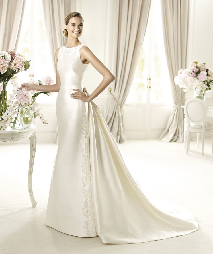 Ubarri Is An Elegant Dress From The Costura By Pronovias
