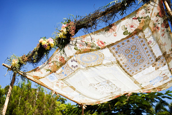 Flowers & Decor, Destinations, Real Weddings, Wedding Style, Australia, Spring Weddings, Shabby Chic Real Weddings, Spring Real Weddings, Shabby Chic Weddings, Altar, Shabby Chic Wedding Flowers & Decor