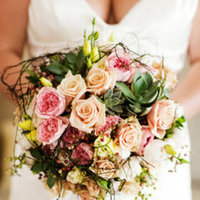 Flowers & Decor, Destinations, Real Weddings, Wedding Style, pink, Australia, Bride Bouquets, Spring Weddings, Shabby Chic Real Weddings, Spring Real Weddings, Shabby Chic Weddings, Spring Wedding Flowers & Decor