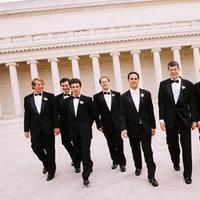 Fashion, Real Weddings, Wedding Style, black, Men's Formal Wear, Spring Weddings, City Real Weddings, Classic Real Weddings, Spring Real Weddings, City Weddings, Classic Weddings