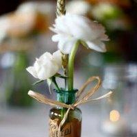 Flowers & Decor, Real Weddings, Wedding Style, Centerpieces, Rustic Real Weddings, Summer Weddings, Midwest Real Weddings, Summer Real Weddings, Rustic Weddings, Rustic Wedding Flowers & Decor