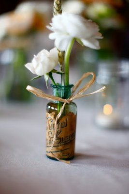 Flowers & Decor, Real Weddings, Wedding Style, Centerpieces, Rustic Real Weddings, Summer Weddings, Midwest Real Weddings, Summer Real Weddings, Rustic Weddings, Rustic Wedding Flowers & Decor