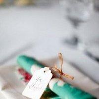 Flowers & Decor, Real Weddings, Wedding Style, green, Place Settings, Rustic Real Weddings, Summer Weddings, Midwest Real Weddings, Summer Real Weddings, Rustic Weddings