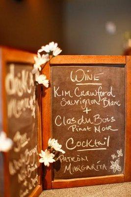 Flowers & Decor, Real Weddings, Wedding Style, Rustic Real Weddings, Summer Weddings, Midwest Real Weddings, Summer Real Weddings, Rustic Weddings, Rustic Wedding Flowers & Decor, Chalkboard