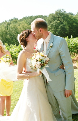 Rustic Vineyard Wedding Dresses, Fashion, Real Weddings, Wedding Style, white, ivory, gray, Men's Formal Wear, Rustic Real Weddings, Summer Weddings, West Coast Real Weddings, Summer Real Weddings, Rustic Weddings
