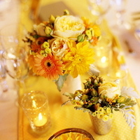 Flowers & Decor, Real Weddings, Wedding Style, yellow, Centerpieces, Candles, Rustic Real Weddings, Summer Weddings, West Coast Real Weddings, Summer Real Weddings, Rustic Weddings, Rustic Wedding Flowers & Decor, Summer Wedding Flowers & Decor