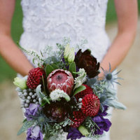 Real Weddings, red, purple, Bride Bouquets, Fall Weddings, Rustic Real Weddings, West Coast Real Weddings, Fall Real Weddings, Rustic Weddings