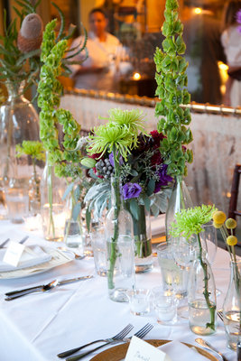 Real Weddings, green, Centerpieces, Fall Weddings, Rustic Real Weddings, West Coast Real Weddings, Fall Real Weddings, Rustic Weddings, Fall Wedding Flowers & Decor, Rustic Wedding Flowers & Decor
