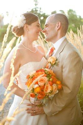 Beauty, Real Weddings, Wedding Style, Updo, Rustic Real Weddings, Summer Weddings, West Coast Real Weddings, Summer Real Weddings, Rustic Weddings, Hair flower