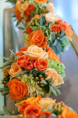 Flowers & Decor, Real Weddings, Wedding Style, orange, Bridesmaid Bouquets, Rustic Real Weddings, Summer Weddings, West Coast Real Weddings, Summer Real Weddings, Rustic Weddings, Fall Wedding Flowers & Decor