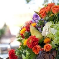 Flowers & Decor, Real Weddings, Wedding Style, Centerpieces, Rustic Real Weddings, Summer Weddings, West Coast Real Weddings, Summer Real Weddings, Rustic Weddings, Fall Wedding Flowers & Decor, Rustic Wedding Flowers & Decor