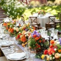 Flowers & Decor, Real Weddings, Wedding Style, Tables & Seating, Rustic Real Weddings, Summer Weddings, West Coast Real Weddings, Summer Real Weddings, Rustic Weddings, Rustic Wedding Flowers & Decor, Summer Wedding Flowers & Decor