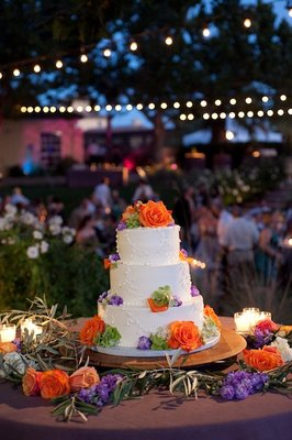 Cakes, Real Weddings, Wedding Style, orange, Floral Wedding Cakes, Wedding Cakes, Rustic Real Weddings, Summer Weddings, West Coast Real Weddings, Summer Real Weddings, Rustic Weddings