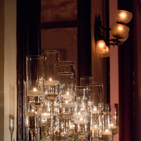 Real Weddings, Wedding Style, Candles, Ceremony Decor, Southern Real Weddings, Winter Weddings, City Real Weddings, Classic Real Weddings, Winter Real Weddings, City Weddings, Classic Wedding Flowers & Decor, Elegant, Formal, Candlelight, Southern weddings, Ceremony décor