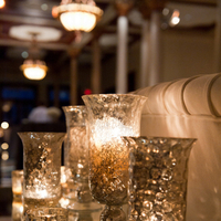 Reception, Real Weddings, Wedding Style, Candles, Southern Real Weddings, Winter Weddings, City Real Weddings, Classic Real Weddings, Winter Real Weddings, City Weddings, Elegant, Formal, Metallic, Candlelight, Southern weddings