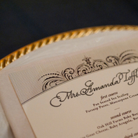 Stationery, Real Weddings, Wedding Style, Menu Cards, Southern Real Weddings, Winter Weddings, City Real Weddings, Classic Real Weddings, Winter Real Weddings, City Weddings, Elegant, Formal, Southern weddings