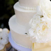 Cakes, Real Weddings, Wedding Style, ivory, Floral Wedding Cakes, Round Wedding Cakes, Wedding Cakes, West Coast Real Weddings, Classic Real Weddings, Classic Weddings, West Coast Weddings
