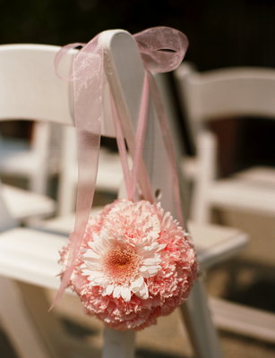 Real Weddings, pink, Aisle Decor, Garden Real Weddings, Garden Weddings, Garden Wedding Flowers & Decor