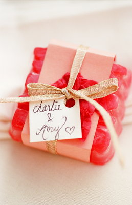 Favors & Gifts, Real Weddings, Wedding Style, pink, Garden Real Weddings, Garden Weddings, Guest gifts