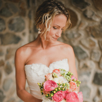 pink, Destination Weddings, Beach Real Weddings, Classic Wedding Flowers & Decor, Summer Wedding Flowers & Decor, Beach wedding, Destination Real Weddings, Island Weddings, Island Real Weddings, Bridal Bouquets