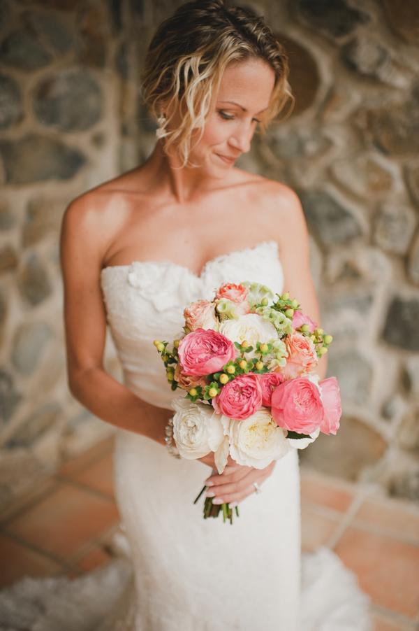 pink, Destination Weddings, Beach Real Weddings, Classic Wedding Flowers & Decor, Summer Wedding Flowers & Decor, Beach wedding, Destination Real Weddings, Island Weddings, Island Real Weddings, Bridal Bouquets