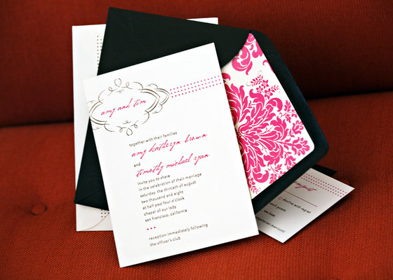 Stationery, Real Weddings, Wedding Style, pink, Glam Wedding Invitations, Invitations, West Coast Real Weddings, City Real Weddings, Glam Real Weddings, City Weddings, Glam Weddings
