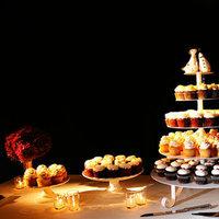Cakes, Real Weddings, Wedding Style, Cupcakes, West Coast Real Weddings, City Real Weddings, Glam Real Weddings, City Weddings, Glam Weddings