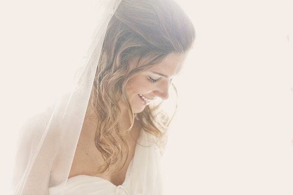 Beauty, Veils, Destinations, Fashion, Real Weddings, Wedding Style, Down, Long Hair, Europe, Spring Weddings, Classic Real Weddings, Spring Real Weddings, Classic Weddings