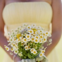 Flowers & Decor, Real Weddings, Wedding Style, yellow, Bridesmaid Bouquets, Modern Real Weddings, Rustic Real Weddings, West Coast Real Weddings, Eco-Friendly Real Weddings, Eco-Friendly Weddings, Modern Weddings, Rustic Weddings, Rustic Wedding Flowers & Decor