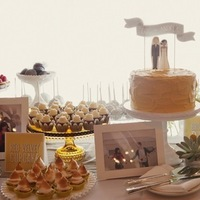 Cakes, Real Weddings, Wedding Style, Other Wedding Desserts, Wedding Cakes, Rustic Real Weddings, West Coast Real Weddings, Eco-Friendly Real Weddings, Eco-Friendly Weddings, Rustic Weddings, rustic wedding cakes, dessert displays
