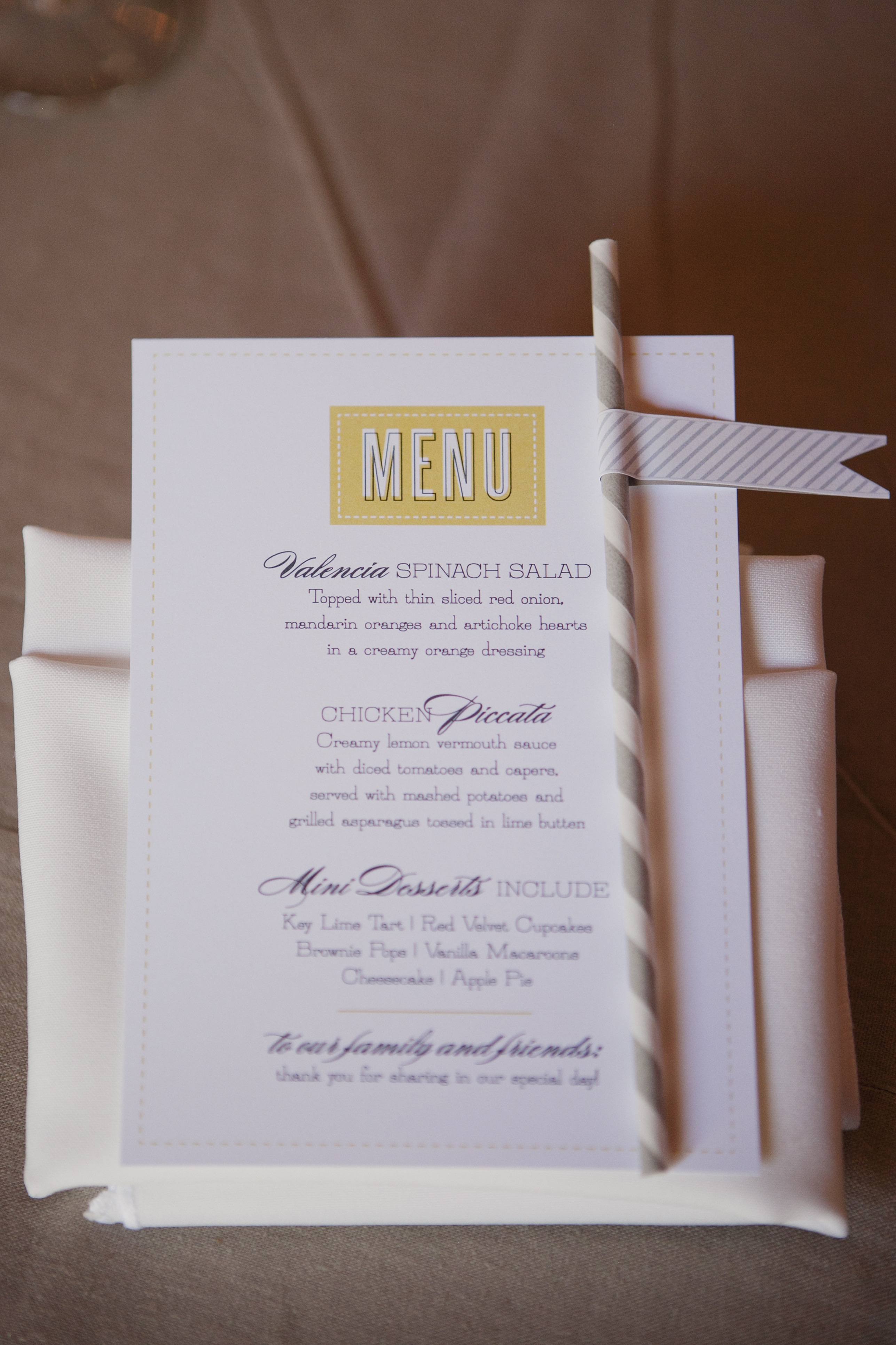 Stationery, Real Weddings, Wedding Style, Menu Cards, Rustic Real Weddings, West Coast Real Weddings, Eco-Friendly Real Weddings, Eco-Friendly Weddings, Rustic Weddings