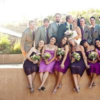 Real Weddings, Wedding Style, purple, gray, Summer Weddings, West Coast Real Weddings, Garden Real Weddings, Summer Real Weddings, Garden Weddings