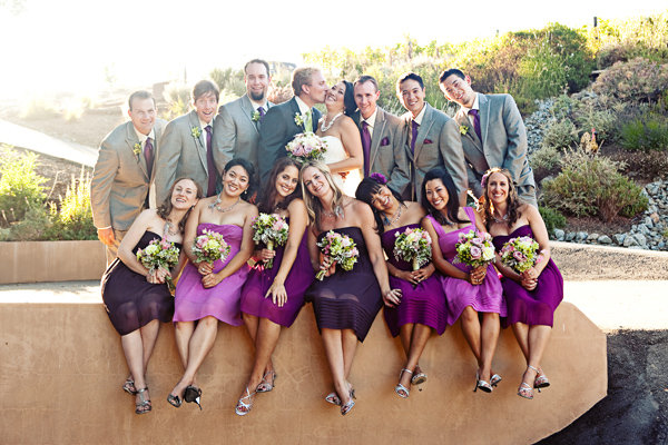 Real Weddings, Wedding Style, purple, gray, Summer Weddings, West Coast Real Weddings, Garden Real Weddings, Summer Real Weddings, Garden Weddings