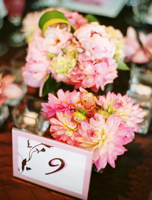 Real Weddings, pink, Table Numbers, Summer Weddings, West Coast Real Weddings, Garden Real Weddings, Summer Real Weddings, Garden Weddings, Garden Wedding Flowers & Decor, Summer Wedding Flowers & Decor