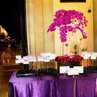 Real Weddings, purple, Escort Cards, West Coast Real Weddings, Glam Real Weddings, Glam Weddings, Glam Wedding Flowers & Decor