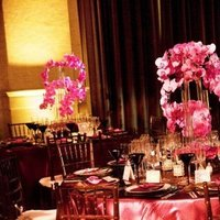 Real Weddings, pink, Centerpieces, Tables & Seating, West Coast Real Weddings, Glam Real Weddings, Glam Weddings, Glam Wedding Flowers & Decor