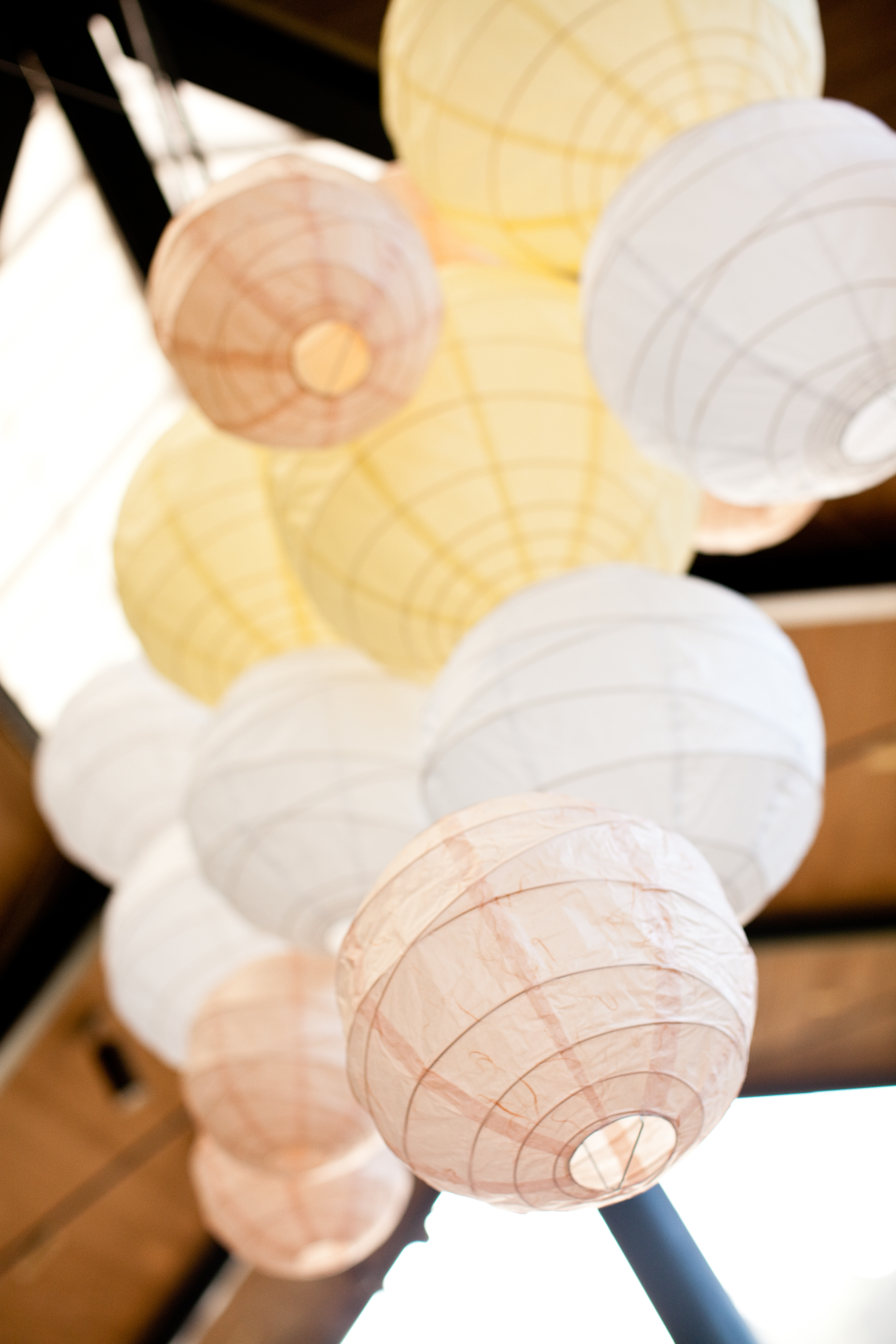 Flowers & Decor, Real Weddings, Wedding Style, Lighting, Summer Weddings, West Coast Real Weddings, Garden Real Weddings, Summer Real Weddings, Garden Weddings, Summer Wedding Flowers & Decor, Paper lanterns