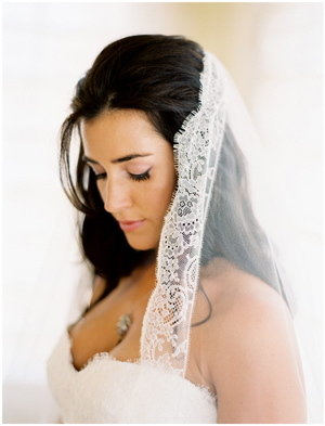 Beauty, Veils, Fashion, Real Weddings, Wedding Style, Makeup, Down, Long Hair, Summer Weddings, West Coast Real Weddings, Summer Real Weddings