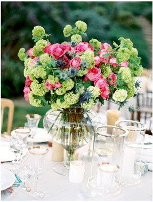 Flowers & Decor, Real Weddings, Wedding Style, Centerpieces, Summer Weddings, West Coast Real Weddings, Summer Real Weddings, Summer Wedding Flowers & Decor