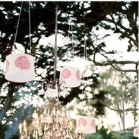 Flowers & Decor, Real Weddings, Wedding Style, Summer Weddings, West Coast Real Weddings, Summer Real Weddings, Summer Wedding Flowers & Decor, Chandeliers