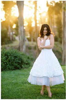 Fashion, Real Weddings, Wedding Style, white, Summer Weddings, West Coast Real Weddings, Summer Real Weddings, Short Wedding Dresses