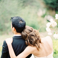Beauty, Real Weddings, Wedding Style, ivory, Down, Wavy Hair, Headbands, Spring Weddings, West Coast Real Weddings, Boho Chic Real Weddings, Garden Real Weddings, Spring Real Weddings, Boho Chic Weddings, Garden Weddings