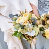 Real Weddings, yellow, Bridesmaid Bouquets, Rustic Real Weddings, Summer Weddings, West Coast Real Weddings, Summer Real Weddings, Rustic Weddings