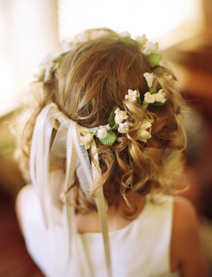 Beauty, Real Weddings, Down, Rustic Real Weddings, Summer Weddings, West Coast Real Weddings, Summer Real Weddings, Rustic Weddings, Hair flower